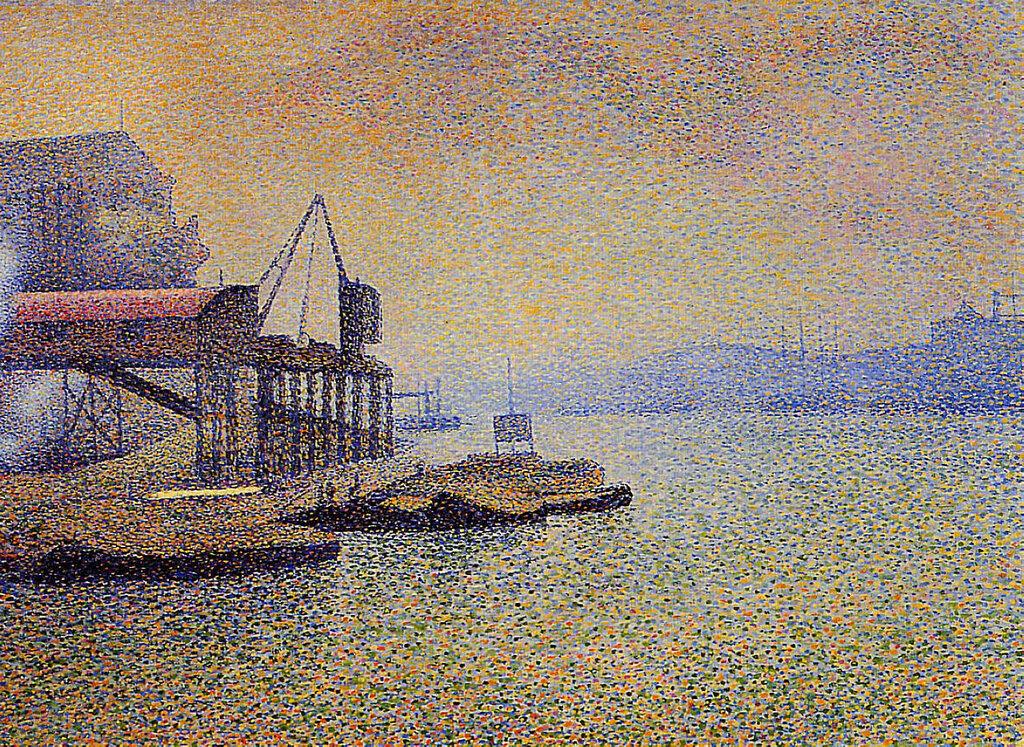 Georges Lemmen - The Thames. the Elevator, 1892-94.jpeg