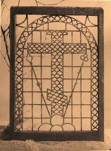 Вид слюдяной рамы собора во Флорищевой пустыни. Владимирская губ.