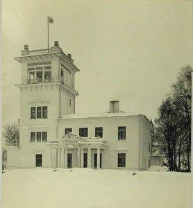 Вид фасада здания лазарета