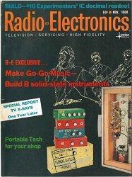 Журнал Radio-Elektronics №11 1968