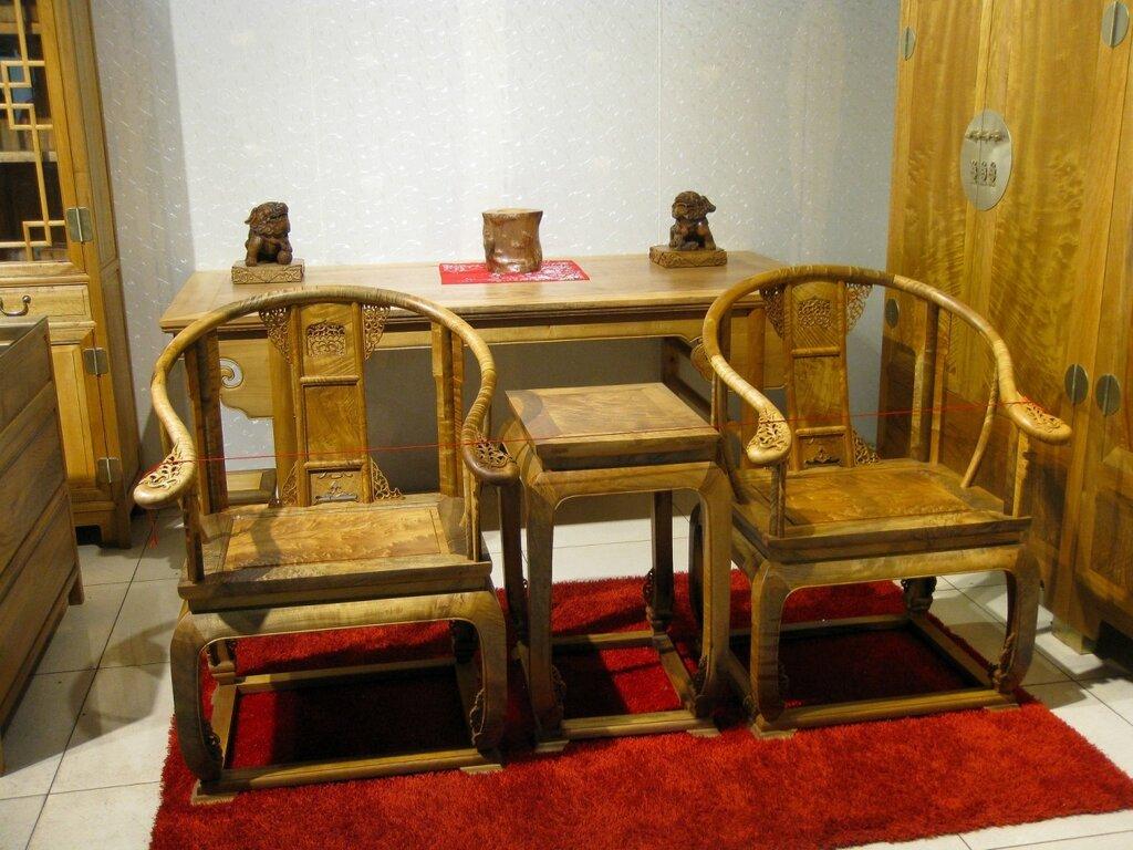 Китайская мебель в традиционном стиле