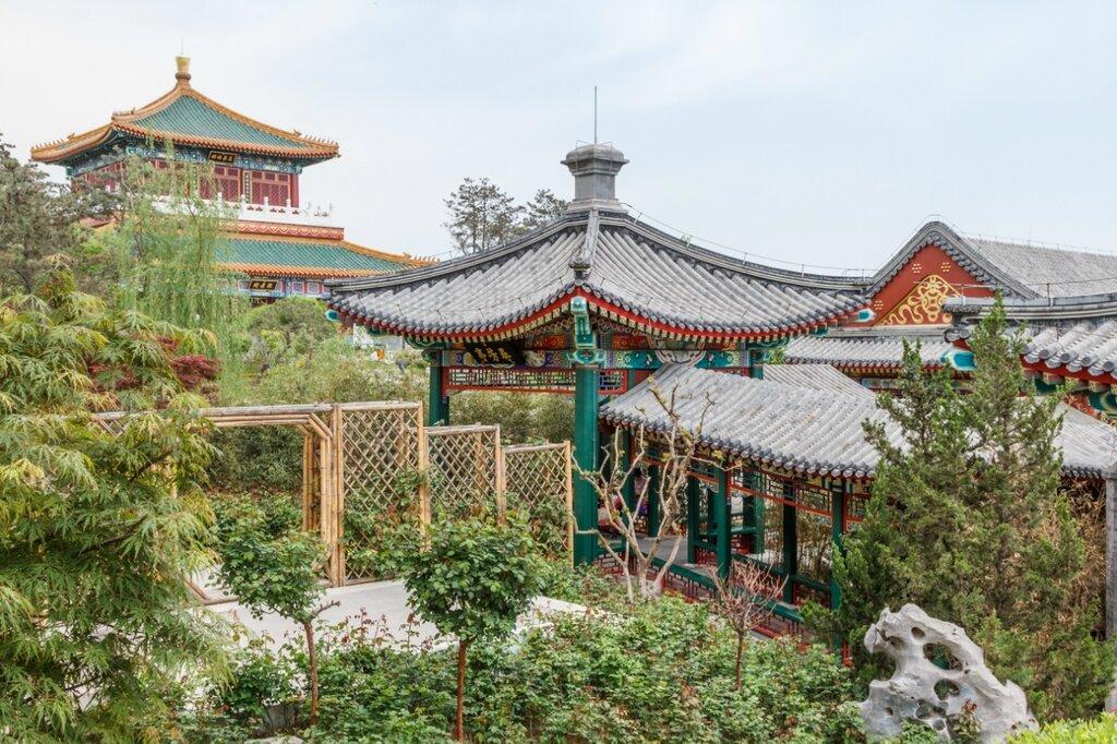 Классический пекинский сад