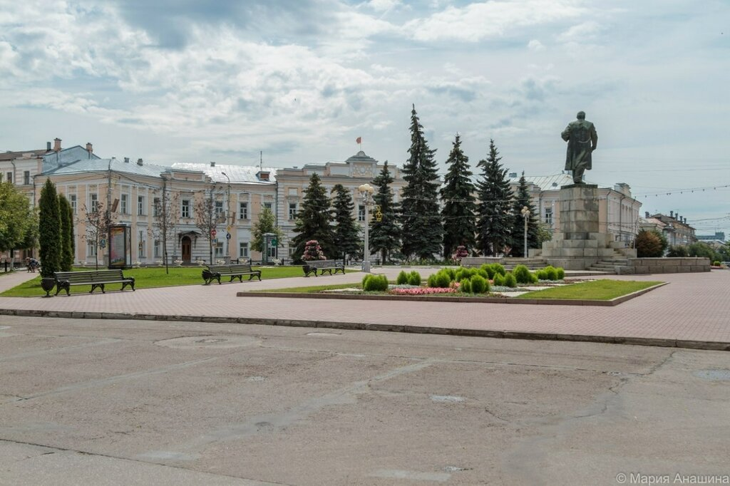 Площадь Ленина в Твери, Восьмиугольная площадь