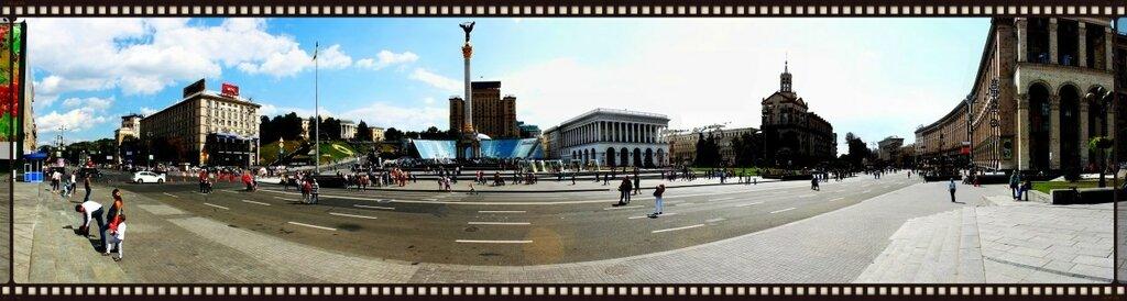 майдан незалежности киев панорама
