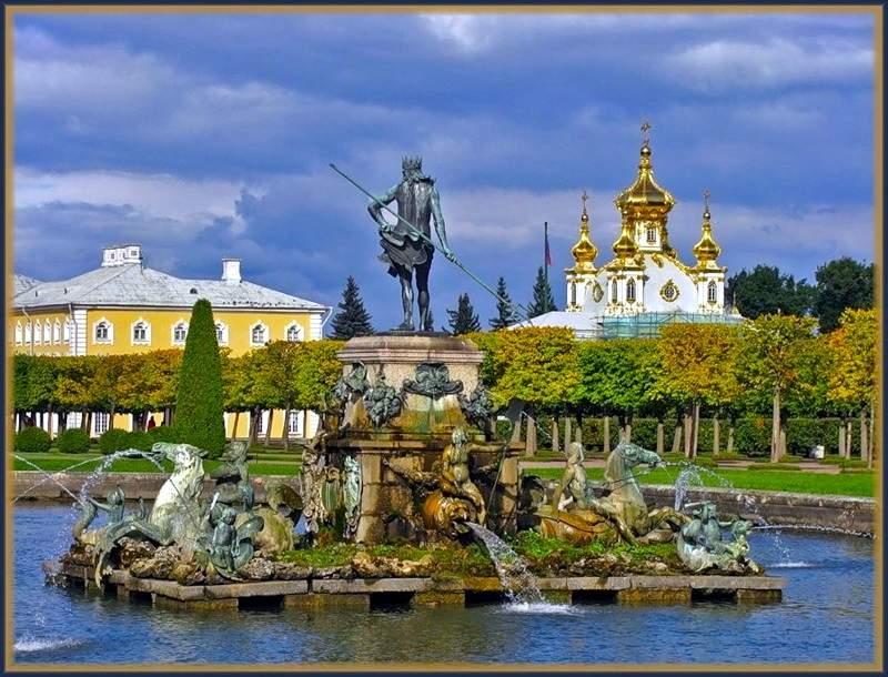 Город Петергоф