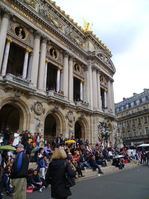 Париж, опера Гарнье (Paris Opera Garnier)