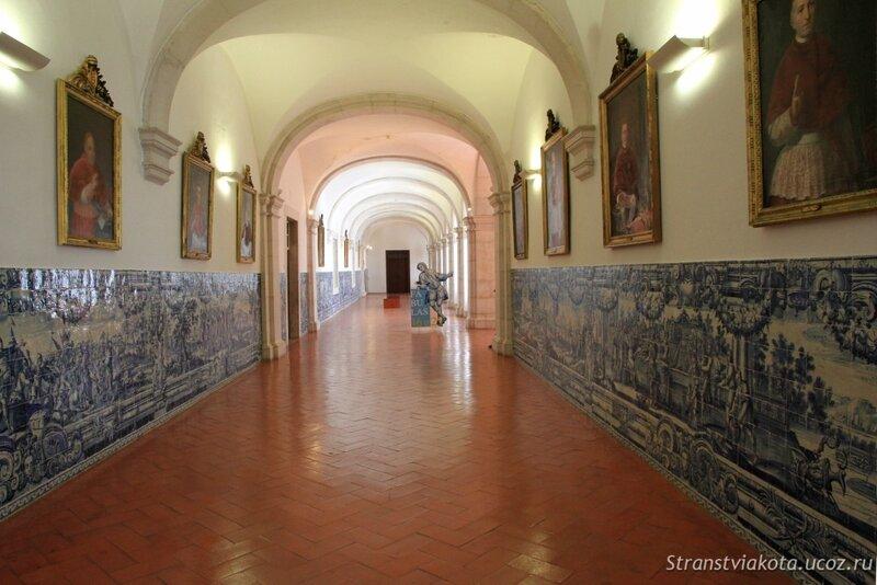 Азулежу в монастыре Святого Висенти, Лиссабон