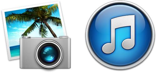 перенести медиатеку iphoto