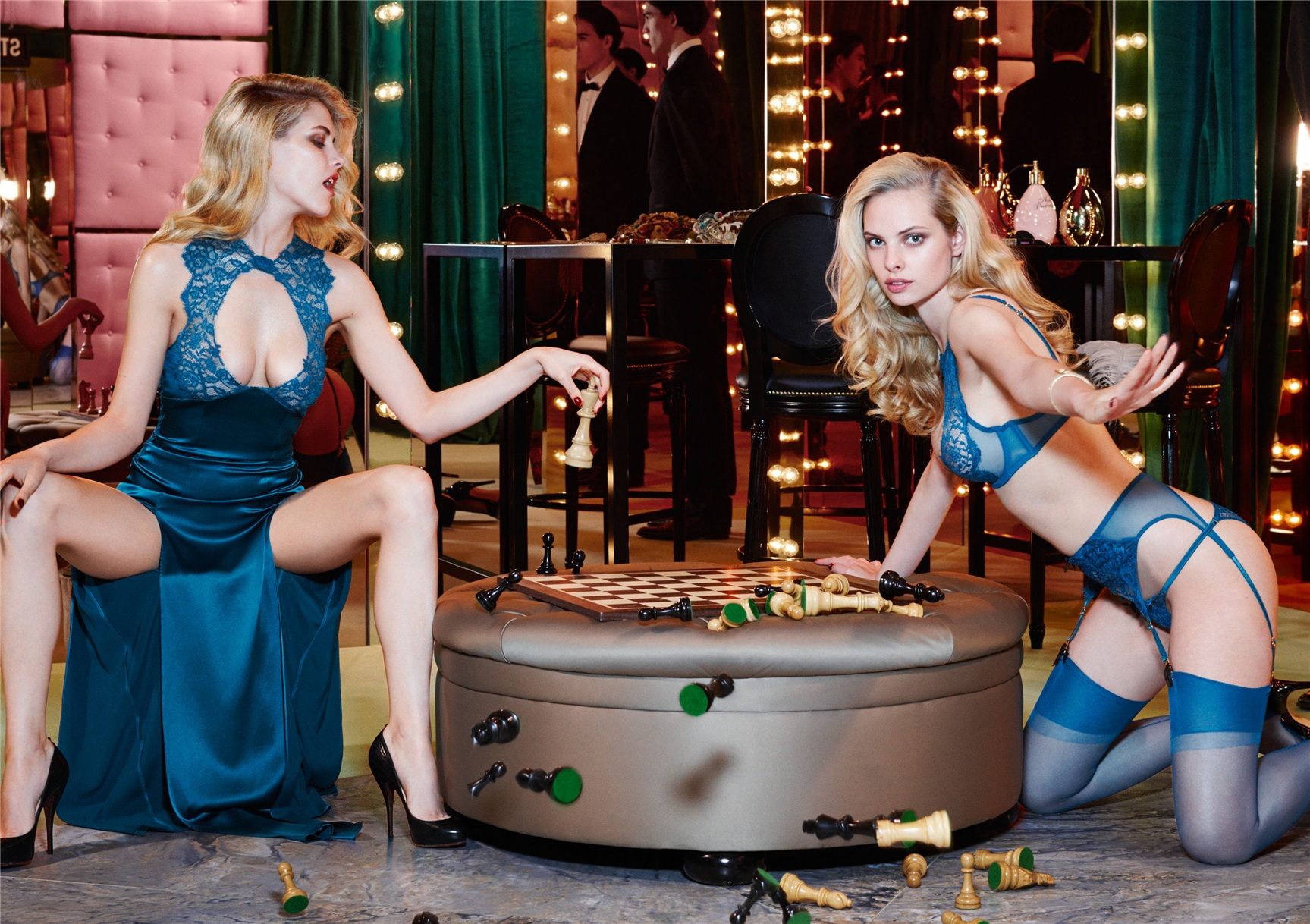 Ashley Smith, Dioni Tabbers by Christian Larson for Agent Provocateur fall/winter 2014/15 -Cassia