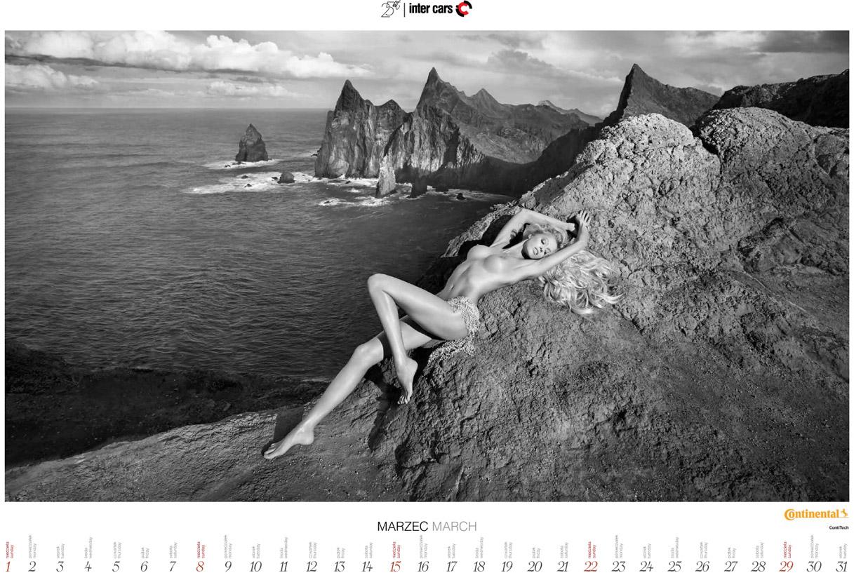 Эротический календарь Inter Cars Special 25 Anniversary Calendar 2015
