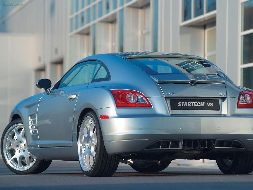 Chrysler Crossfire – воплощение духа марки Chrysle