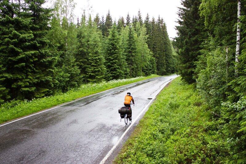 дорога 409 между Савитайпале и Партакоски (Savitaipale и Partakoski)