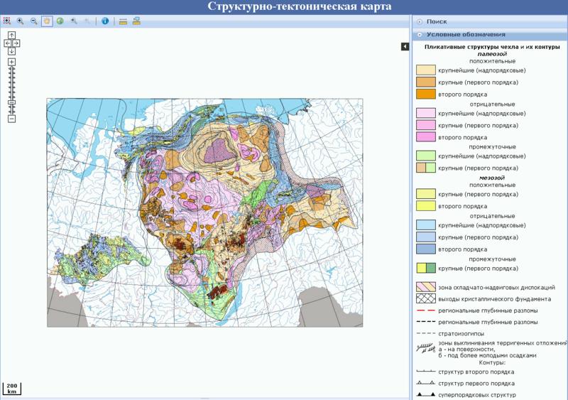 Структурно-тектоническая карта