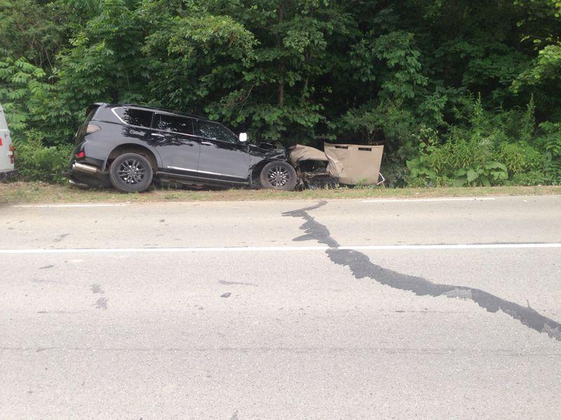 В Приморье ВАЗ 2106 столкнулся с Nissan Patrol: один человек погиб