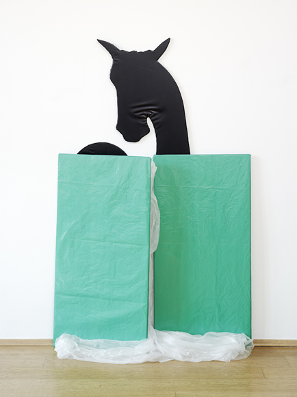 Michael Krebber, exhibition at Nagel Draxler, Düsseldorf © Michael Krebber