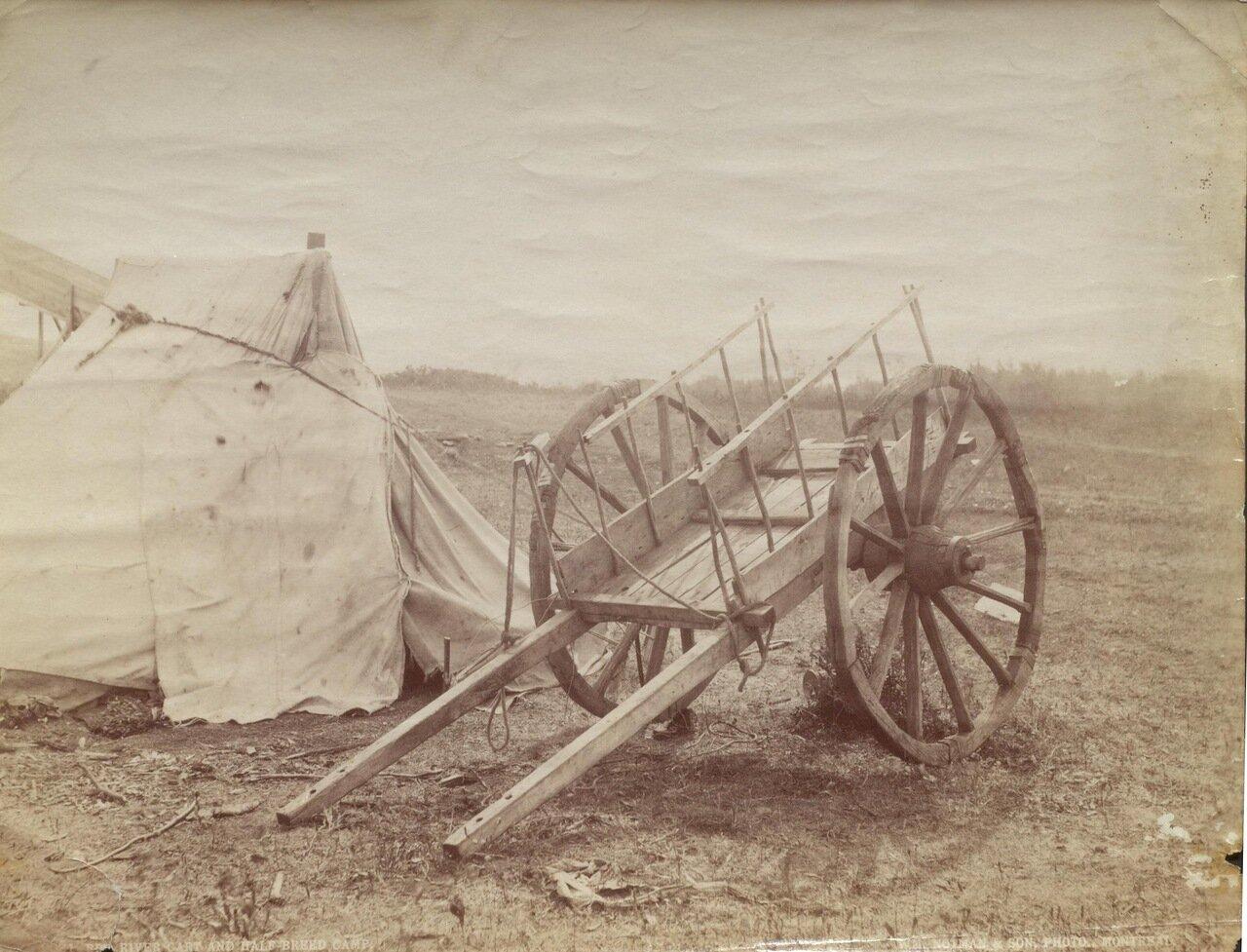 Лагерь полукровок на Красной реке