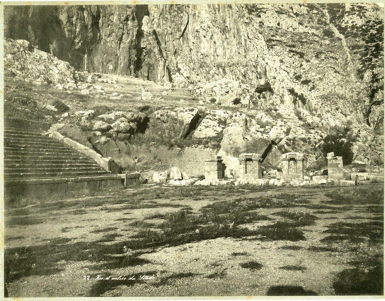 1910. Вход на арену