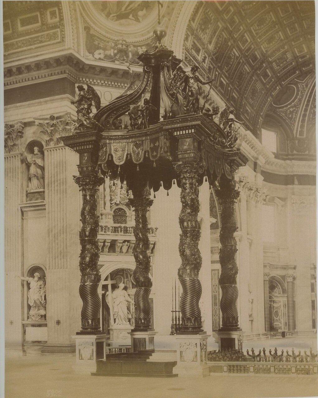 Папский алтарь Святого Петра. 1880