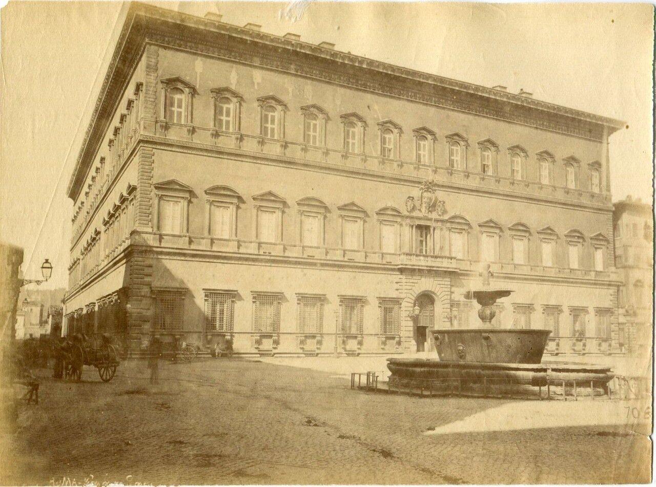Вилла Фарнезе. 1870