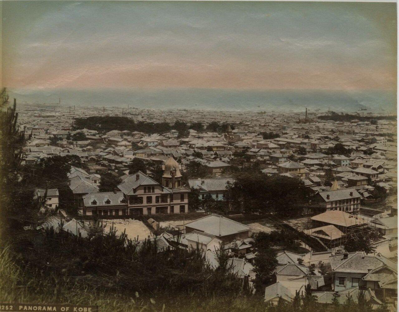 Кобе. Панорама