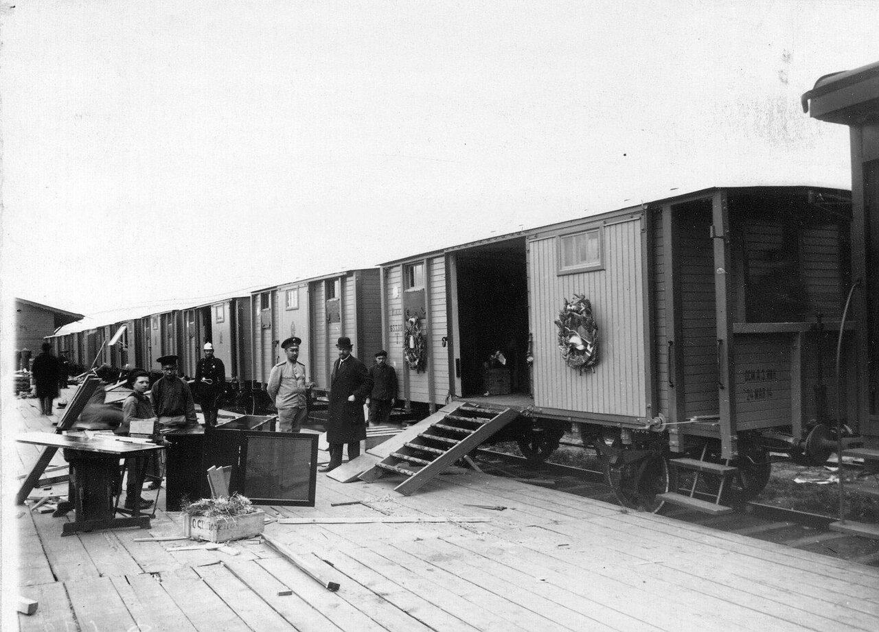 05. Оборудование поезда перед отправкой в действующую армию
