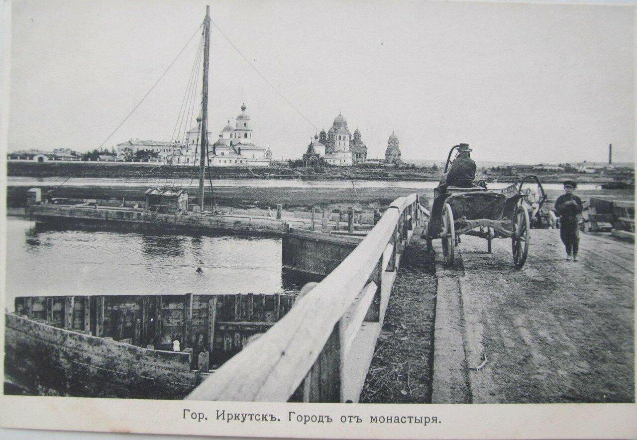Город от монастыря
