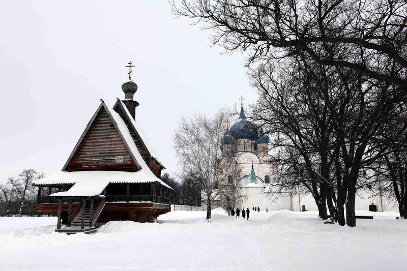 Суздаль - Никольская церковь
