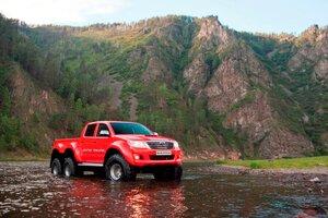 В России запущено производство автомобилей с колесной формулой 6x6