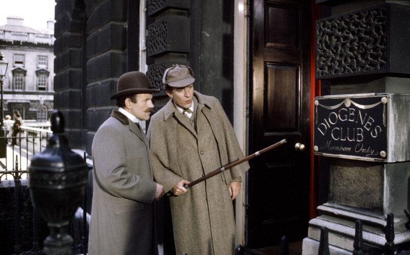 1970 г. Частная жизнь Шерлока Холмса. В роли Холмса Роберт Стивенс
