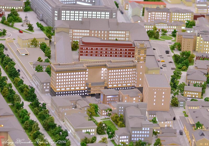 Здания Министерства Обороны