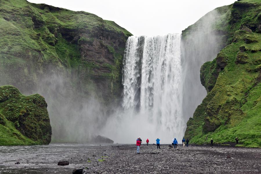 15. Ледники и водопады Эйяфьядлайокудля.