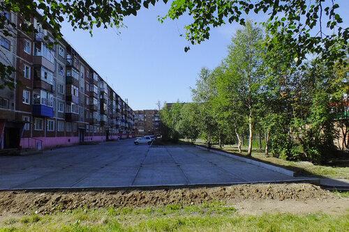 Фото города Инта №7049  Куратова 46, 50 и 52 13.08.2014_11:31