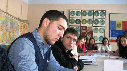 Дискуссионный евроклуб в Вулканештах. 16 февраля 2014