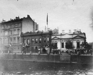 Здание итальянского посольства. (арх.О.Монферран, В.А.Штрейбер, 1836 - 1840-е г.г.)