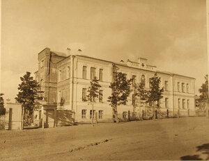Фасад здания лазарета