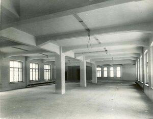 Помещение с железо-бетонными перекрытиями  - образец постройки строительной конторы товарищества.