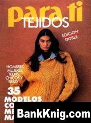 Журнал Para Ti Tejidos 1993 Invierno