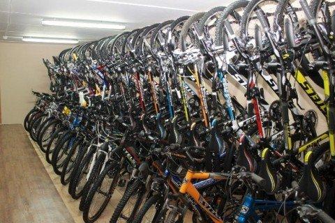 С минского склада украли велосипеды и мотоциклы без взлома