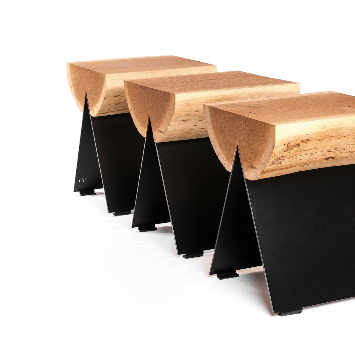 Malgorzata Knobloch, Igor Wiktorowicz, Witamina D, 1/2 Stool, дизайнерская мебель, экслюзивная мебель, универсальная мебель, садовая мебель, табурет