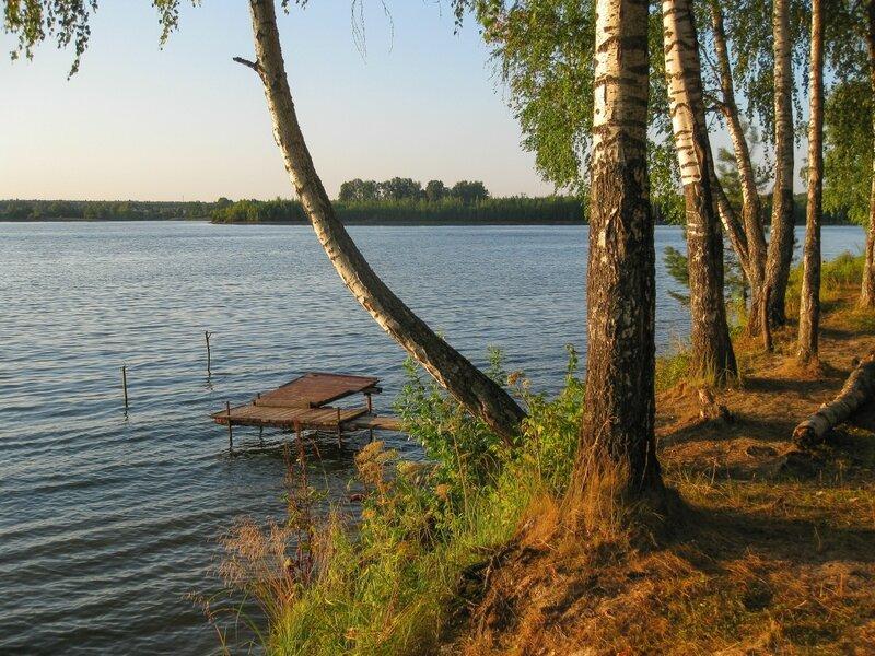 Пляж, Пяловское водохранилище