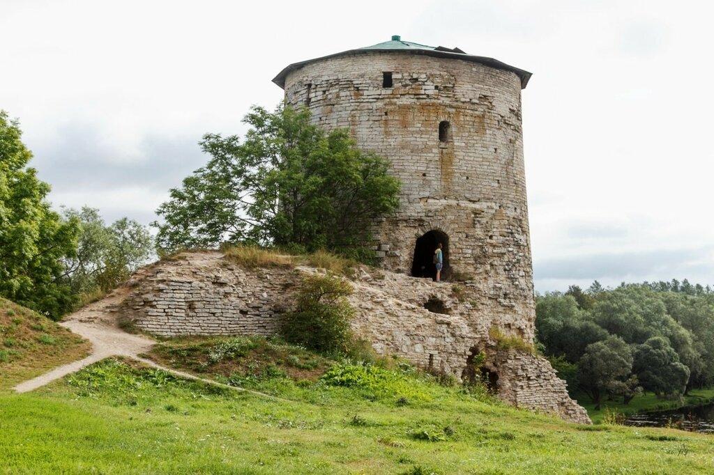 Козьмодемьянская (Гремячая) башня, Псков