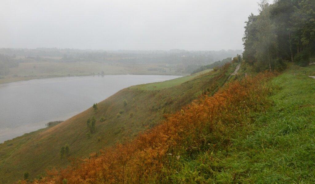 Городищенское озеро, Изборск, Труворово городище