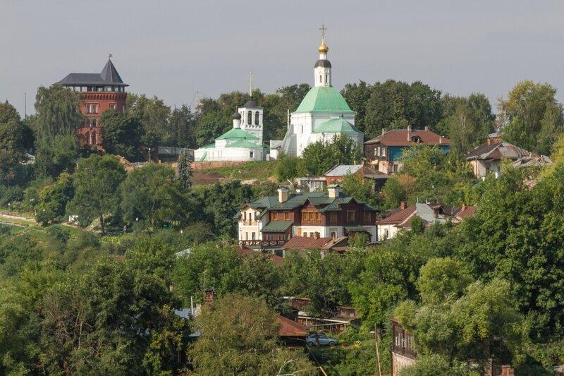 Панорама Нового (Земляного) города, Владимир