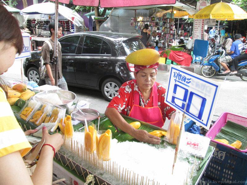 Лица Бангкока от Ивана Ветра