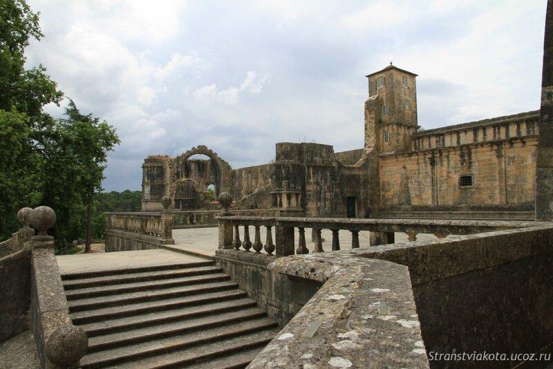 Португалия, Томар, монастырь тамплиеров