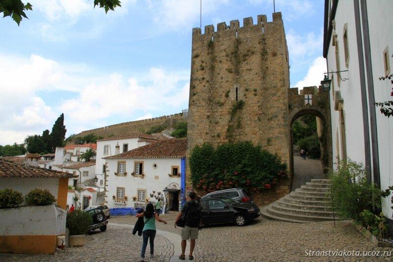 Португалия, замок в Обидуш