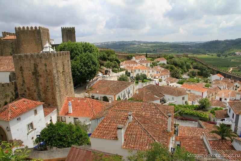 Португалия, Обидуш с крепостной стены