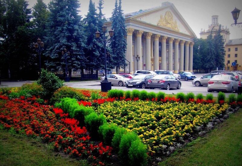 Летний город Новосибирск