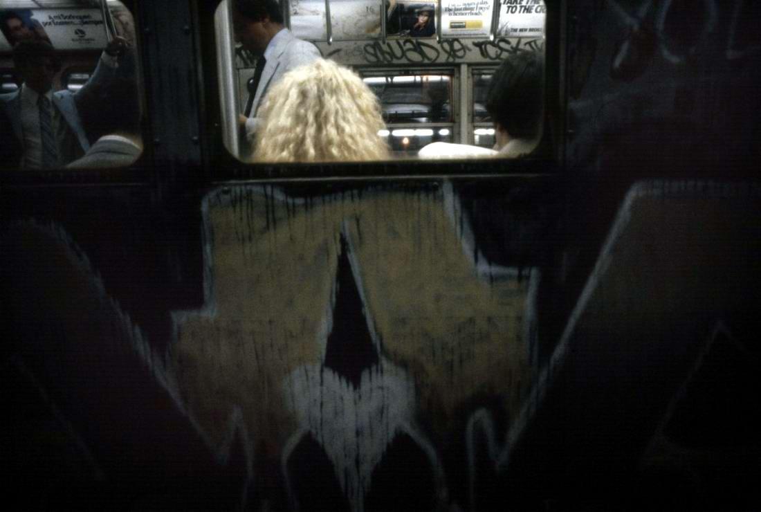 Американский фотограф Christopher Morris: Граффити и андеграунд нью-йоркского метро (7)