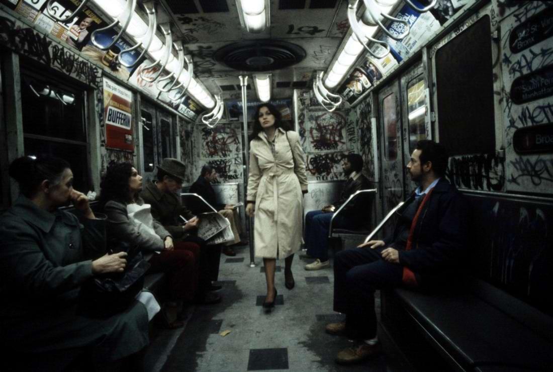 Американский фотограф Christopher Morris: Граффити и андеграунд нью-йоркского метро (12)
